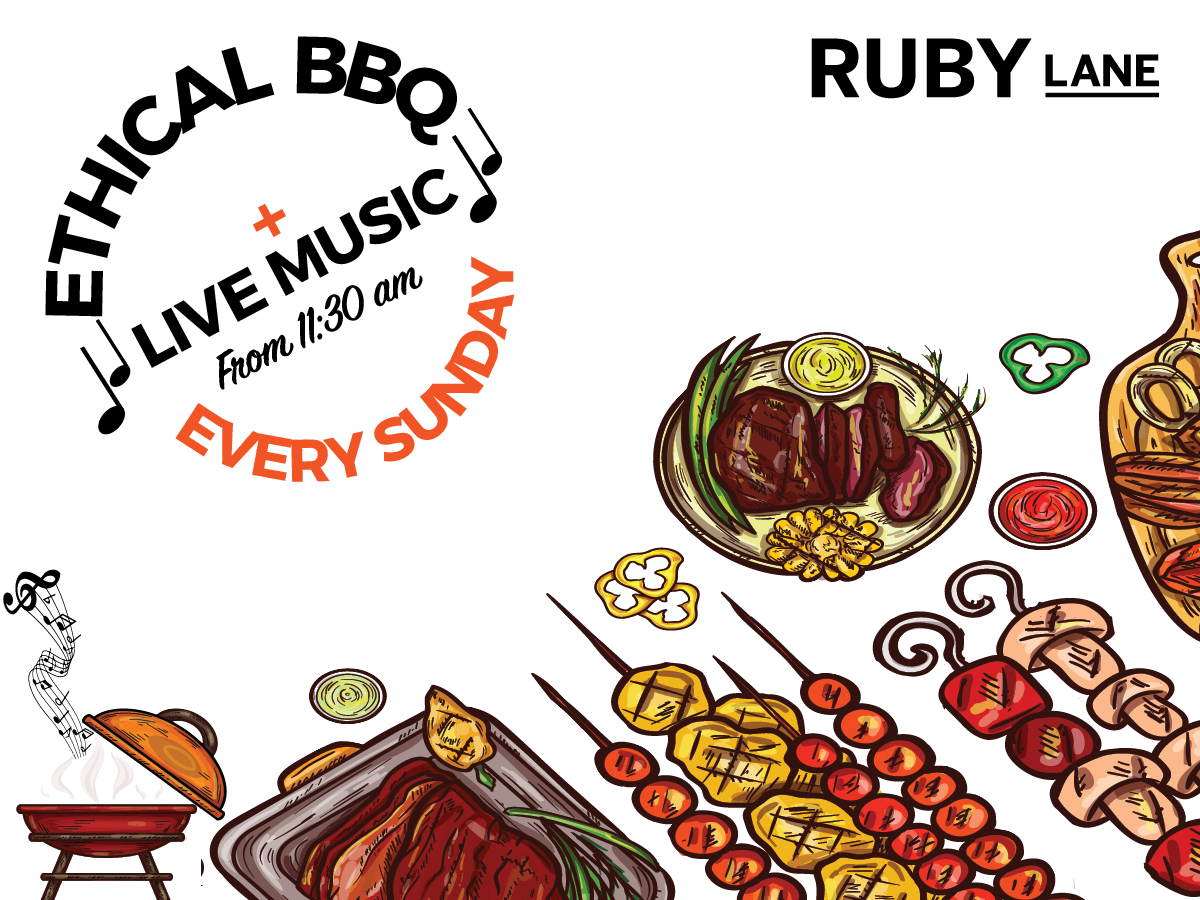 ETHICAL BBQ WITH LIVE MUSIC | EVERY SUNDAY